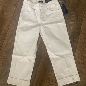 Not your daughters Slimming Cropped NWT SIZE 0
